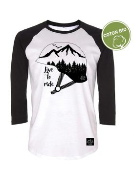 "T-Shirt ""Live to ride"""